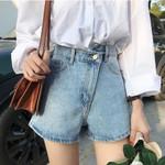 High Waist Shorts  Casual Fashion Denim Shorts