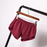 All-match Loose  Elastic Waist Shorts
