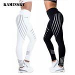 High Elastic Shine  Slim Fit  Fitness Leggings
