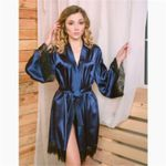 Satin Robe  Wedding Bridesmaid Robes Sleepwear