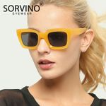Fashion Modern Designer Retro  Square Sunglasses
