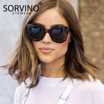 Luxury Brand Designer  Retro Cat Eye Sunglasses