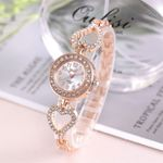 Crystal Diamond  Luxury Fashion Quartz  Bangle Watch