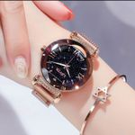 Luxury  Wrist Starry Sky Magnetic Watch