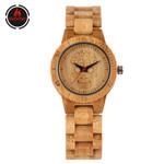 Natural Wooden Creative Fashion  Bamboo Bangle Wood Watches