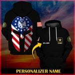 Hihi Store hoodie S / Hoodie US Army Personalized Name ALL OVER PRINTED SHIRTS 001