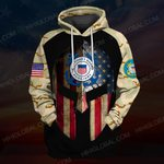 Hihi Store hoodie S / Hoodie US Coast Guard ALL OVER PRINTED SHIRTS