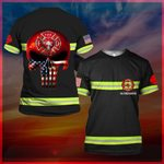 Hihi Store hoodie S / T Shirt US Firefighter All Over Printed Shirts 032405