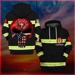 Hihi Store hoodie S / Hoodie US Firefighter All Over Printed Shirts 032405
