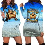 Hihi Store hoodie XS / Dress I'm a grumpy old Coast Guard Veteran All Over Printed Shirts 052305