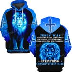 Hihi Store hoodie S / Hoodie Jesus God Jesus was everything conservatives hate ALL OVER PRINTED SHIRTS