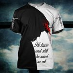 Hihi Store hoodie S / T Shirt Jesus He knew and still he saved us all ALL OVER PRINTD SHIRTS