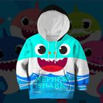 Hihi Store hoodie Toddler 2T / Hoodie Nephew Shark All Over Printed Shirts