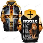 Hihi Store hoodie S / Hoodie Jesus is my evething 083003