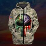 Hihi Store hoodie S / Zip Hoodie US Army All Over Printed Shirts 031202