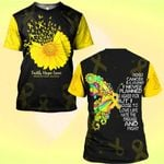 Hihi Store hoodie S / T Shirt Faith Hope Love Childhood Cancer Awareness 081904
