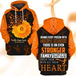 Hihi Store hoodie S / Hoodie Faith Hope Love MS Awareness 082801