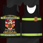 Hihi Store hoodie XXS / Tank Top Canadian Firefighter Once a Firefighter always a Firefighter  All Over Printed Shirts 061105