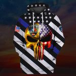 Hihi Store hoodie S / Hoodie US Police All Over Printed Shirts 031211