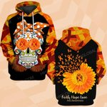 Hihi Store hoodie S / Hoodie MS awareness Faith hope love skull ALL OVER PRINTED SHIRTS DH9