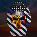 Hihi Store hoodie S / Hoodie US Police All Over Printed Shirts 031210