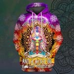Hihi Store hoodie S / Hoodie I'm mostly peace love and light All Over Printed Shirts 032204