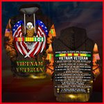 Hihi Store hoodie S / Hoodie US Veterans Vietnam Veterans Boons guide to peace and tranquility  061304