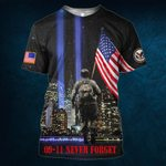 Hihi Store hoodie S / T Shirt Us Veteran 0911 Never Forget All Over Printed Shirts 080701