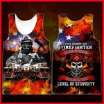 Hihi Store hoodie XXS / Tank Top US Firefighter I'm a grumpy old Firefighter All Over Printed Shirts 052301