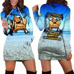 Hihi Store hoodie XS / Dress Forever the title Grumpy Old Coast Guard Veteran All Over Printed Shirts 052304