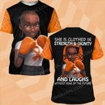 Hihi Store hoodie S / T Shirt Faith Hope Love MS Awareness she is clothed in strength and dignity  ALL OVER PRINTED SHIRTS