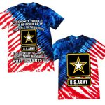 Us Army It's what Us Armys do All Over Printed Shirts 062404