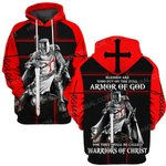 Hihi Store hoodie S / Hoodie Jesus God Warriors of Christ ALL OVER PRINTED SHIRTS