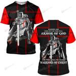Hihi Store hoodie S / T Shirt Jesus God Warriors of Christ ALL OVER PRINTED SHIRTS