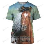 Hihi Store hoodie XS / T Shirt Stop staring at my Stallion