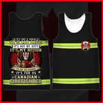 Hihi Store hoodie XXS / Tank Top Canadian Firefighter It's not a phase, It my life All Over Printed Shirts 053004