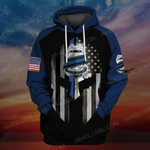 Hihi Store hoodie S / Hoodie US Police officer  ALL OVER PRINTED SHIRTS