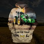 Hihi Store hoodie S / Hoodie Farmer All Over Printed Shirts 040103