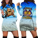 Hihi Store hoodie XS / Dress Forever the title  Grumpy Old Navy Veteran All Over Printed Shirts 052302
