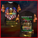 Hihi Store hoodie S / T Shirt US Veterans Our Country says that Vietnam Veterans are now - too old to receive benefits due 061303