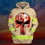 Hihi Store hoodie S / Hoodie Canadian Firefighter All Over Printed Shirts 030702