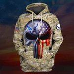 Hihi Store hoodie S / Hoodie US Air Force All Over Printed Shirts 031204