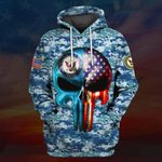 Hihi Store hoodie S / Hoodie US Navy All Over Printed Shirts 031201
