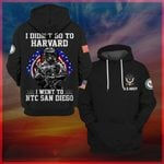 Hihi Store hoodie S / Hoodie Us Navy - Naval Training Center San Diego All Over Printed Shirts 042306