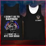 Hihi Store hoodie XXS / Tank Top Us Navy - Naval Training Center San Diego All Over Printed Shirts 042306