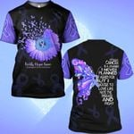 Hihi Store hoodie S / T Shirt Faith Hope Love Esophageal Cancer Awareness 0819018