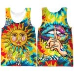 Hihi Store hoodie XXS / Tank Top Hippie Let it  be All Over Printed Shirts 042607