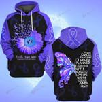 Hihi Store hoodie S / Hoodie Faith Hope Love Esophageal Cancer Awareness 0819018