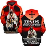 Hihi Store hoodie S / Hoodie Jesus is my lord my everything  ALL OVER PRINTD SHIRTS 090906