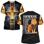 Hihi Store hoodie S / T Shirt God Jesus is my everything ALL OVER PRINTED SHIRTS
